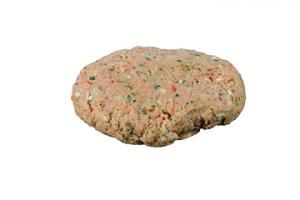 Bacon Cheddar Salmon Burger