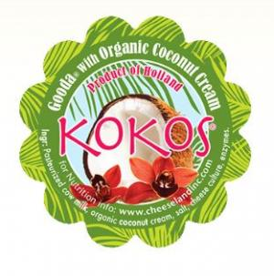 Kokos Gouda Cheese With Coconut Milk