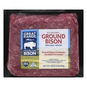 Great Range Ground Bison