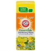 Arm & Hammer Disinfecting Wipes Lemon Orchard