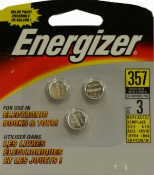 Energizer #357 Watch Batteries
