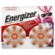 Energizer Size 13 Zero Mercury Batteries