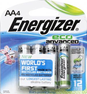 Energizer Eco Advanved Aa Batteries