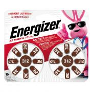 Energizer AZ 312DP Zinc Air Hearing Aid Batteries