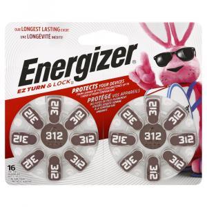 Energizer Az 312dp Zinc Air Hearing Aid Batteries