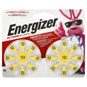 Energizer Size 10 Zero Mercury Batteries