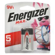 Energizer 9-Volt Battery 522BP Max