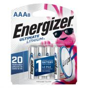 Energizer Ultimate Lithium AAA8 Batteries