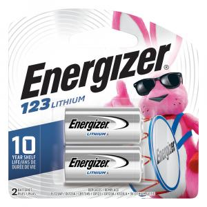 Energizer El123apb2 Photo Batteries