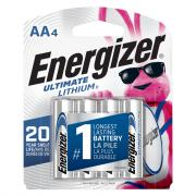Energizer AA L91BP-4 Batteries