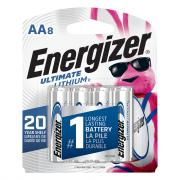 Energizer Ultimate Lithium AA8 Batteries