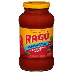 Ragu Old World Style Meat Spaghetti Sauce