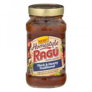 Ragu Homestyle Thick and Hearty Traditional Sauce