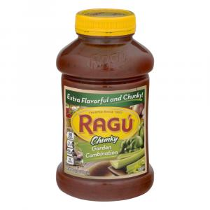 Ragu Chunky Garden Combo Style Spaghetti Sauce