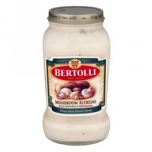 Bertolli Mushroom Alfredo Pasta Sauce
