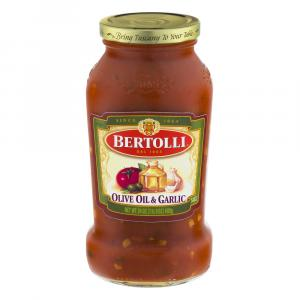 Bertolli Olive Oil & Garlic Pasta Sauce