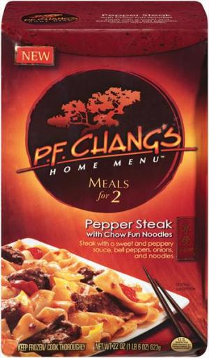 P.f. Chang's Pepper Steak With Chow Fun Noodles