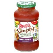 Ragu Simply Roasted Garlic Pasta Sauce