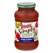 Ragu Simply Traditional Pasta Sauce