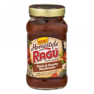 Ragu Homestyle Thick And Hearty Mushroom Sauce