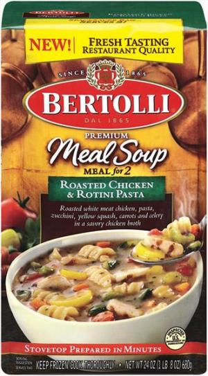 Bertolli Roasted Chicken & Rotini Pasta Soup