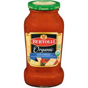 Bertolli Organic Five Cheese Pasta Sauce