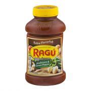 Ragu Chunky Green Pepper & Mushroom Spaghetti Sauce
