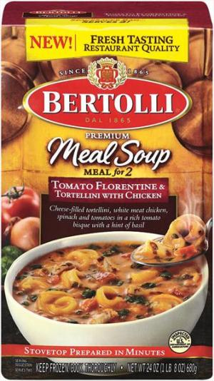 Bertolli Tomato Florentine & Tortellini Soup