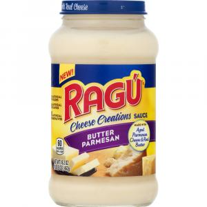 Ragu Cheese Creations Butter Parmesan Sauce