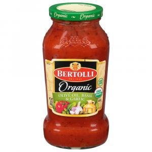 Bertolli Organic Olive Oil & Basil Pasta Sauce