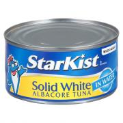 StarKist Solid White Albacore Tuna in Water