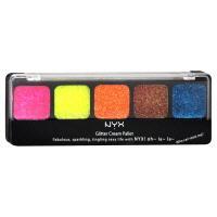 NYX Glitter Cream Eye Shadow Quad