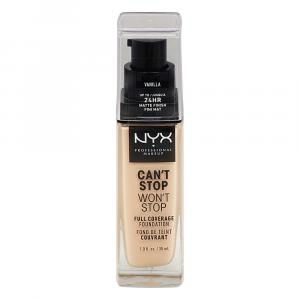 NYX Can't Stop Won't Stop Foundation Vanilla