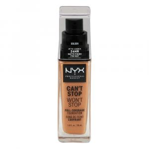 NYX Can't Stop Won't Stop Foundation Golden