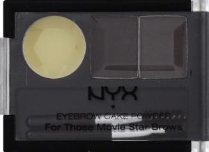 NYX Eyebrow Powder Black/Grey