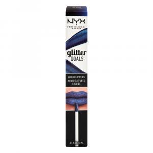 NYX Glitter Goals Liquid Lipstick Oil Spill