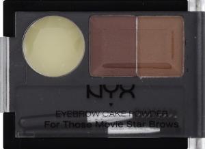 NYX Eyebrow Powder Auburn/Red