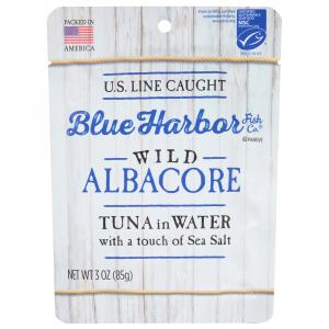Blue Harbor Wild Albacore Tuna in Water