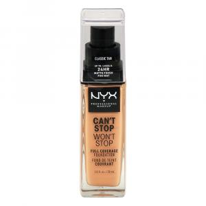 NYX Can't Stop Won't Stop Foundation Classic Tan