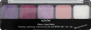 NYX Eye Glitter Cream Pretty Pink