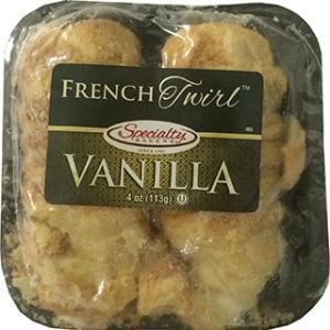 Specialty Bakery French Twirl Vanilla