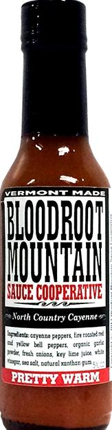 Bloodroot Mountain Pretty Warm Hot Sauce