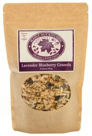 Maple Nut Kitchen Lavender Blueberry Granola