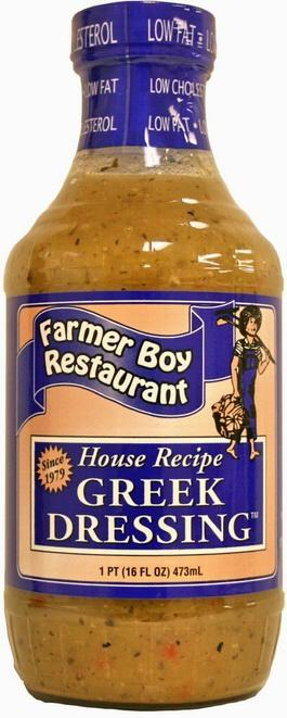 Farmer Boy Greek Salad Dressing