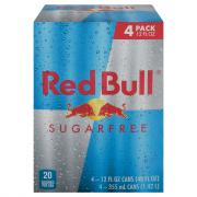 Red Bull Sugar Free Energy Drinks