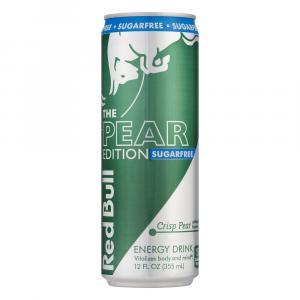 Red Bull Pear Edition Sugar Free Crisp Pear Energy Drink