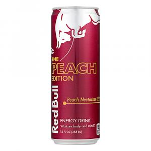 Red Bull Peach Edition Peach-Nectarine Energy Drink