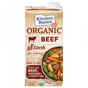 Kitchen Basics Organic Beef Stock For Cooking Gluten Free