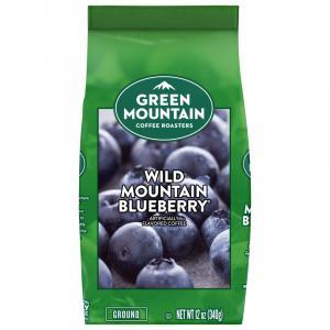 Green Mountain Wild Mountain Blueberry Ground Coffee