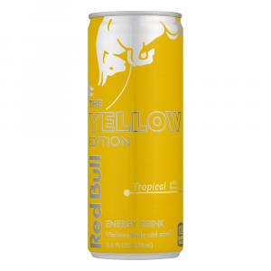 Red Bull Yellow Edition Tropical Energy Drink